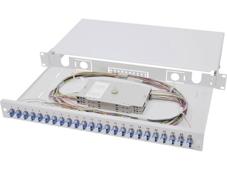 Digitus Professional DN-96332/9 Glasvezel-patchpaneel 24 poorten LC 1 HE