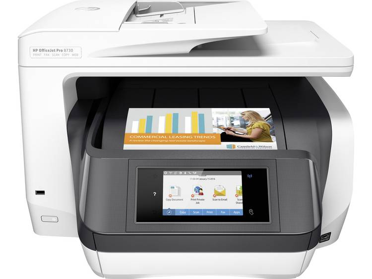 HP Officejet Pro 8730 aio 24ppm 1200dpi A4 (D9L20A#A80)