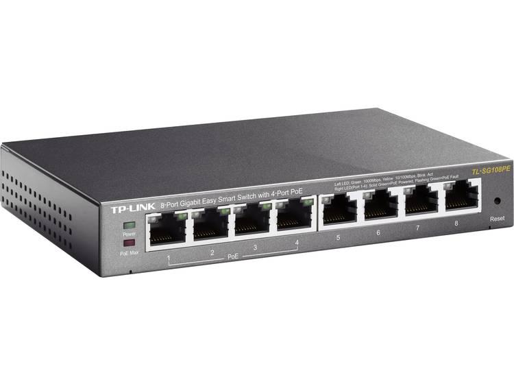 TP-LINK TL-SG108PE Netwerk switch RJ45 8 poorten 1 Gbit/s PoE-functie