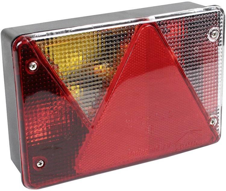 Image of Gloeilamp Aanhangerachterlicht Knipperlicht, Remlicht, Kentekenverlichting, Mistachterlicht, Achterlicht, Reflector achter, links 12 V LAS
