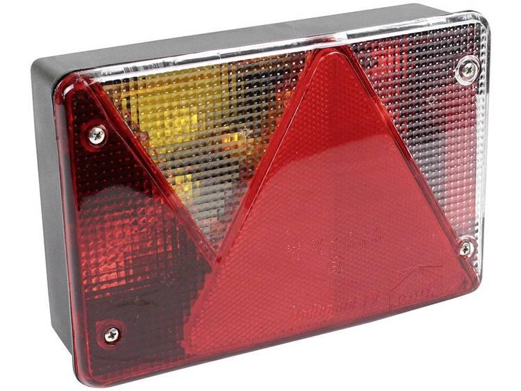 Gloeilamp Aanhangerachterlicht Knipperlicht, Remlicht, Kentekenverlichting, Mistachterlicht, Achterlicht, Reflector achter, links 12 V LAS