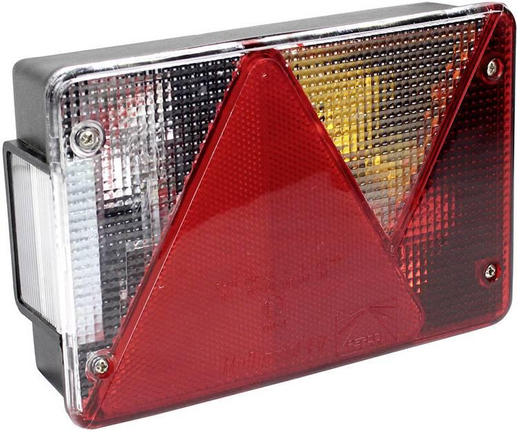 Image of Gloeilamp Aanhangerachterlicht Knipperlicht, Remlicht, Kentekenverlichting, Reflector, Achteruitrijlicht, Achterlicht achter, rechts 12 V LAS