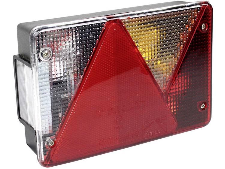 Gloeilamp Aanhangerachterlicht Knipperlicht, Remlicht, Kentekenverlichting, Reflector, Achteruitrijlicht, Achterlicht achter, rechts 12 V LAS