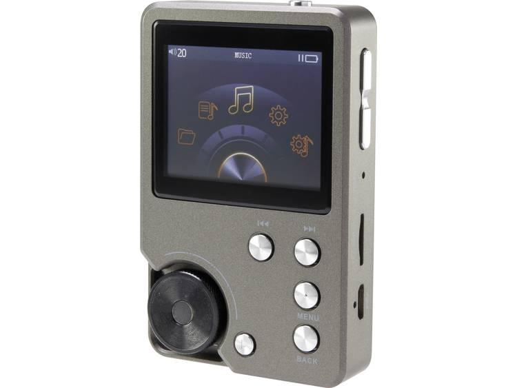 Renkforce HFP-C2 MP3-speler 0 GB Antraciet High-Resolution audio