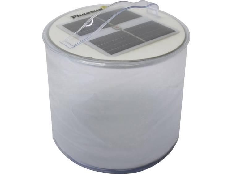 LED Camping-lamp Phaesun Blow-Up Colour Werkt op zonne-energie 100 g Transparant, Zilver XSK-L07-1