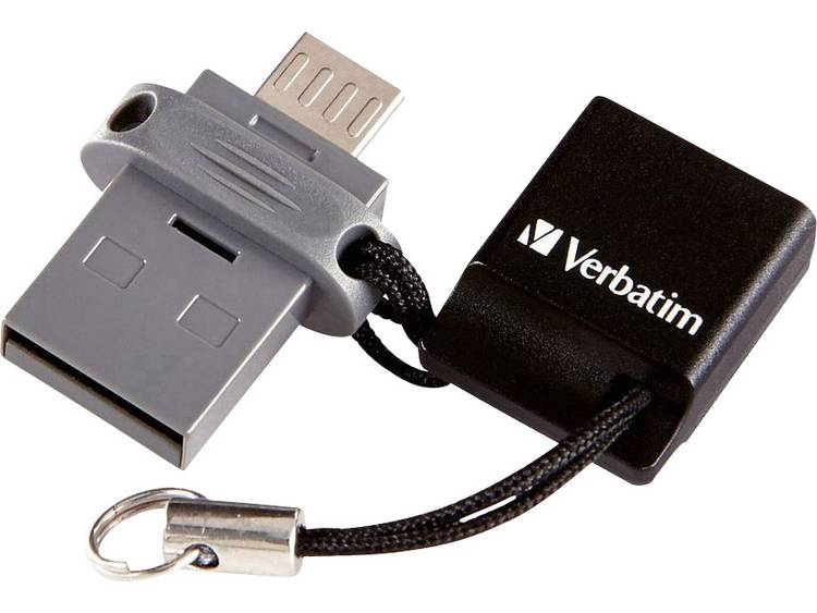 Verbatim Dual Drive USB-stick smartphone/tablet 16 GB USB 2.0, Micro-USB 2.0