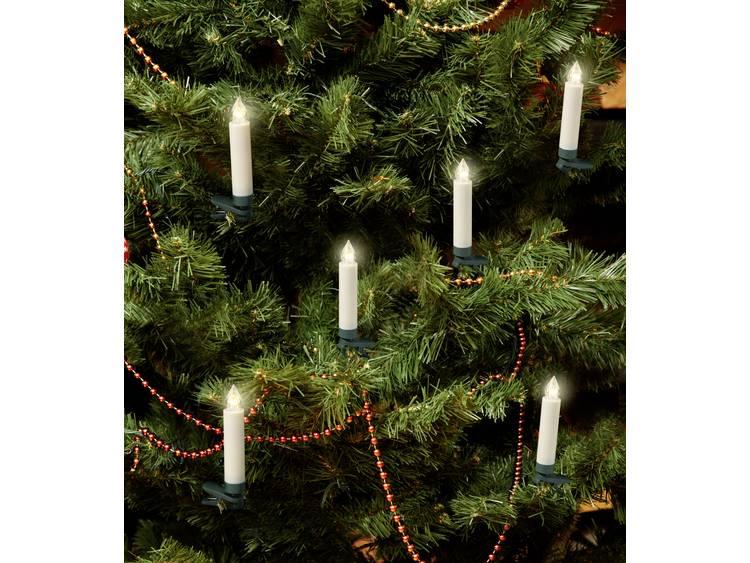 Polarlite PL-8388735 Draadloze kerstboomverlichting Kaarsen Binnen werkt op batterijen 10 stuks LED Warm-wit kopen