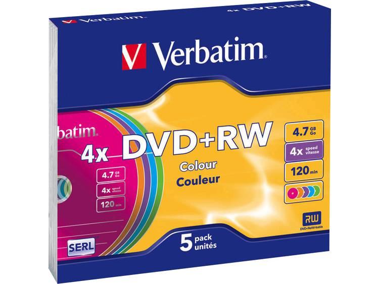 Verbatim DVD+RW Colours (43297)