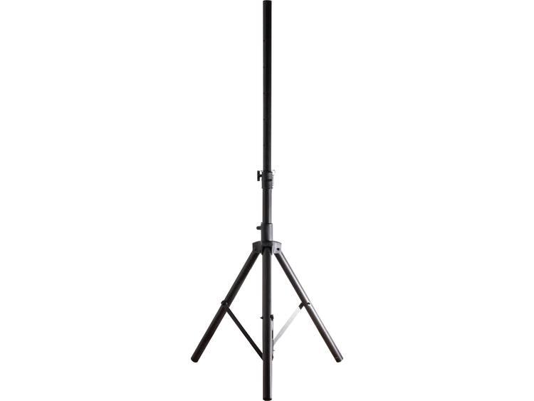 Smart TS1ALU Sateliet-statief Uittrekbaar, Inklapbaar Zwart