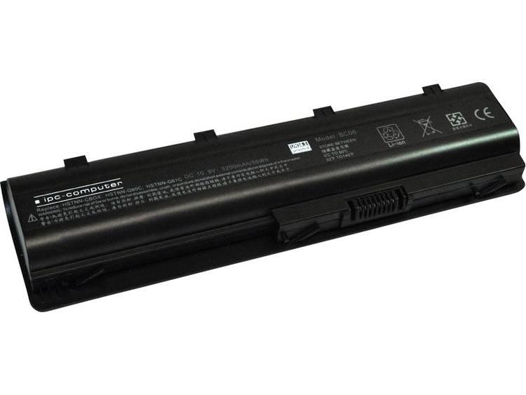 Laptopaccu ipc-computer Vervangt originele accu 586006-321, 586006-361, 586006-541, 586006-761, 5860