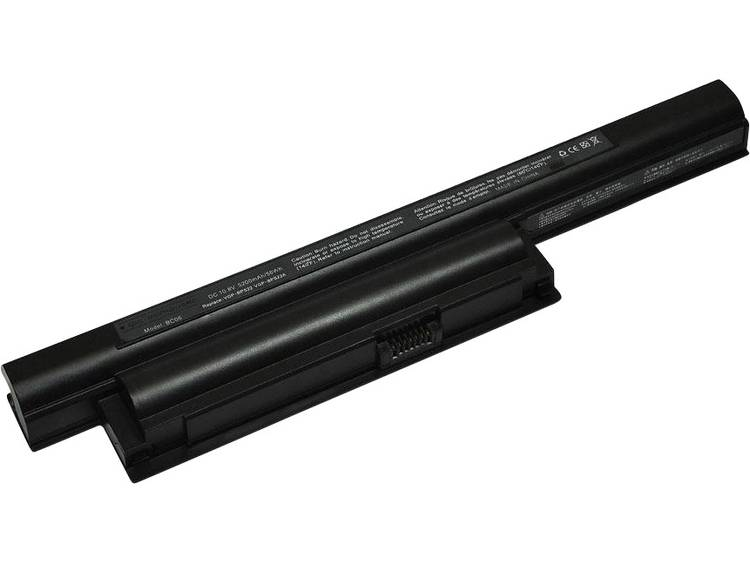 Laptopaccu ipc-computer Vervangt originele accu 175694311, VGP-BPS22, VGP-BPS22A, 4-176-637-01, VGPB