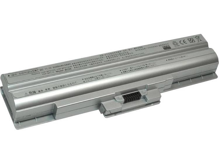 Laptopaccu ipc-computer Vervangt originele accu 3-291-587-21, 3-298-858-02, A1562802C, VGP BPS13 sil