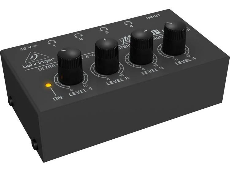 Behringer MICROAMP HA 400 hoofdtelefoon versterker