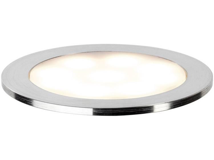 LED badkamer inbouwlamp 0.7 W Paulmann Allround Warmwit Chroom