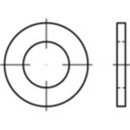 TOOLCRAFT 146173 Onderlegringen Binnendiameter: 24 mm DIN 7989 Staal verzinkt 100 stuks