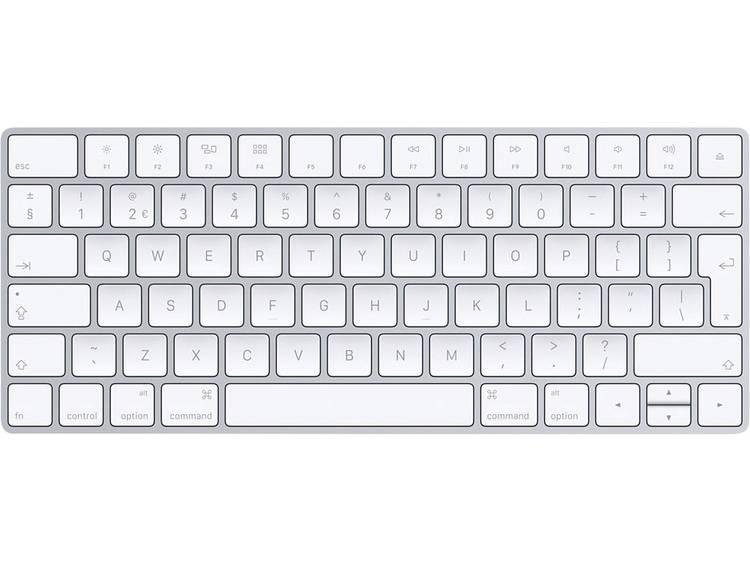 Apple Magic Keyboard Bluetooth toetsenbord Zilver, Wit Oplaadbaar
