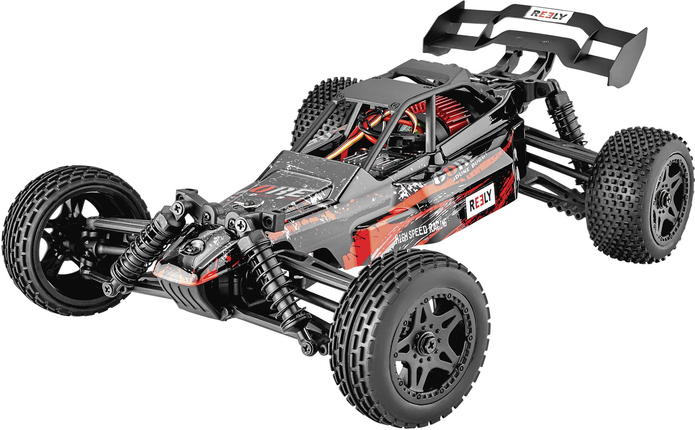 reely core 1 10 xs brushed rc auto elektro buggy 4wd rtr 2 4 ghz. Black Bedroom Furniture Sets. Home Design Ideas