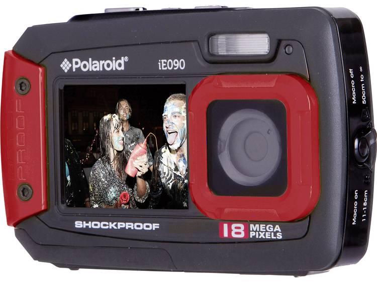 Polaroid iE090 Digitale camera 18 Mpix Zwart-rood Onderwatercamera, Stofdicht, Frontdisplay kopen