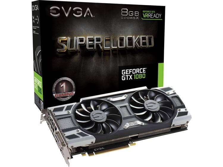 Videokaart EVGA Nvidia GeForce GTX1080 SC Gaming ACX 3.0 8 GB GDDR5X-RAM PCIe x16 HDMI, DisplayPort, DVI