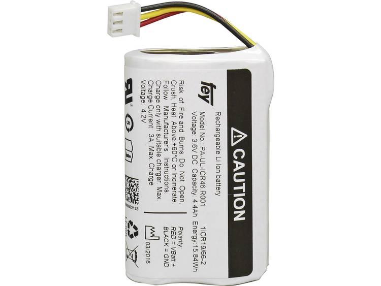 Fey Elektronik NCR-18650BF Accupack Li-ion 3.6 V 6700 mAh 18650 Stekker