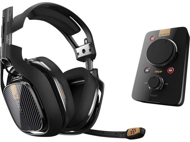 Gaming headset 3.5 mm jackplug Kabelgebonden, Stereo Astro Gaming A40 TR Headset Over Ear Zwart