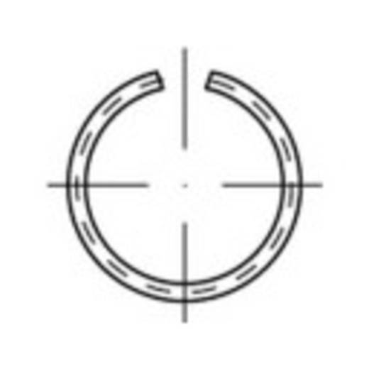 TOOLCRAFT 146414 Veerring Binnendiameter: 18 mm Verenstaal 100 stuks