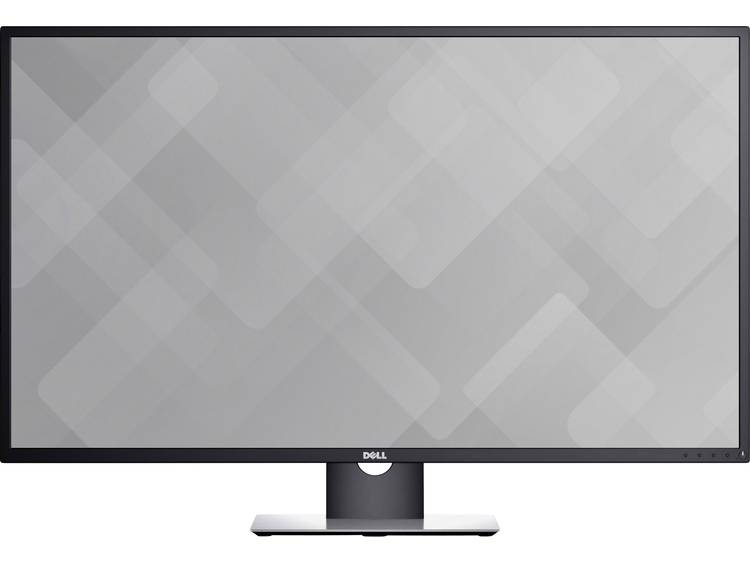 Dell Professional P4317Q LED-monitor 108 cm (42.51 inch) Energielabel B (A+ – F) 3840 x 2160 pix UHD 2160p (4K) 8 ms HDMI, USB 3.0, VGA, RS232, DisplayPort,