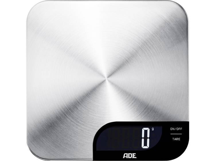 ADE KE 1600 Alessia Keukenweegschaal Digitaal Weegbereik (max.): 5 kg RVS (geborsteld)