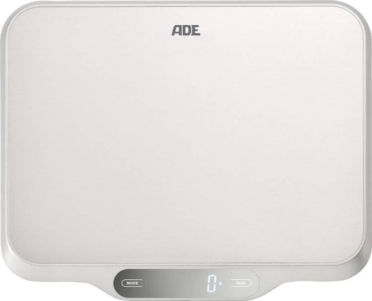 Image of Keukenweegschaal Digitaal ADE KE 1601 Ladina Weegbereik (max.)=15 kg RVS (geborsteld)