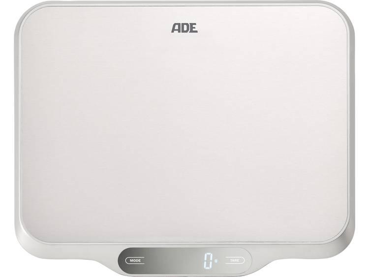 ADE KE 1601 Ladina Keukenweegschaal Digitaal Weegbereik (max.): 15 kg RVS (geborsteld)