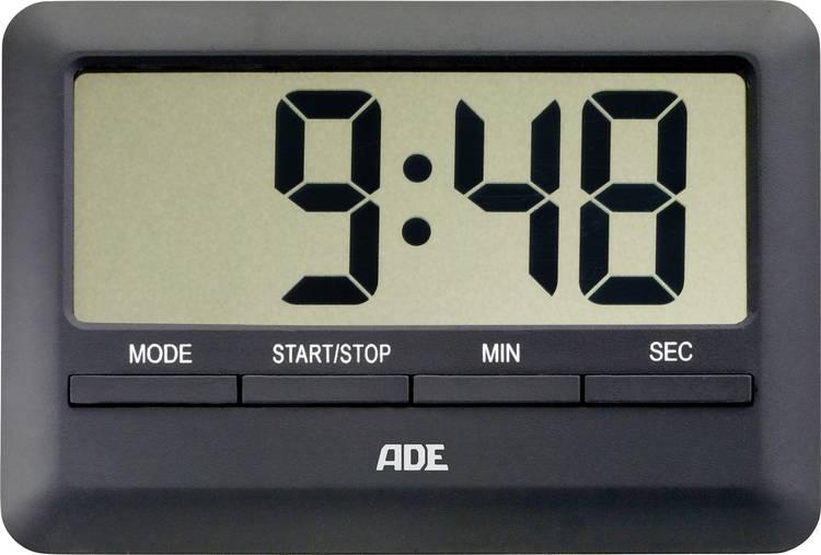 Timer ADE TD 1601 Zwart Digitaal
