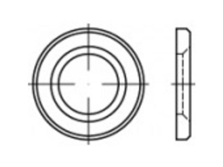 HV-schijfjes Binnendiameter: 13 mm DIN 14399 Staal thermisch verzinkt 1 stuks TOOLCRAFT 146512