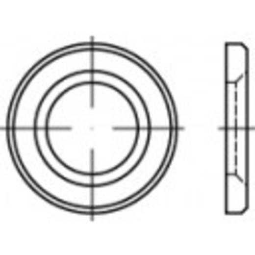 TOOLCRAFT 146514 HV-schijfjes Binnendiameter: 21 mm DIN 14399 Staal thermisch verzinkt 1 stuks