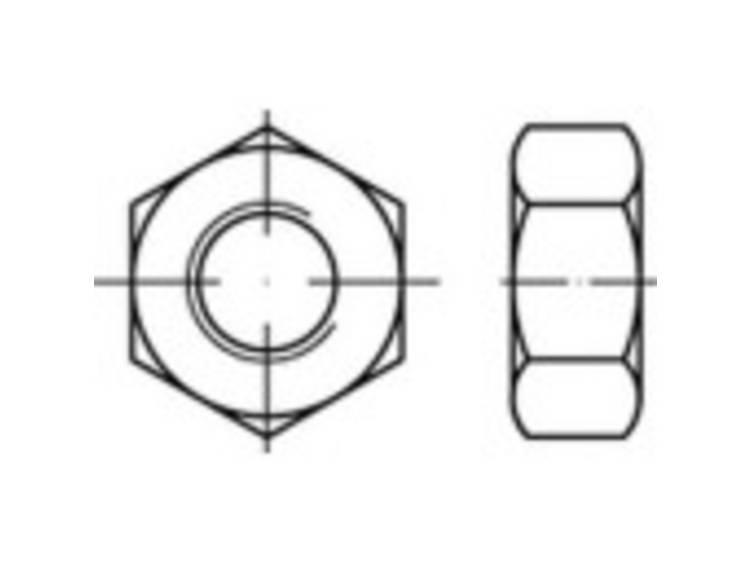 HV-zeskantmoeren M12 DIN 14399 Staal Thermisch verzinkt 1 stuks TOOLCRAFT 146989