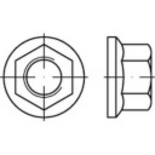 Borgmoer met flens M22 DIN 74361 Staal 100 stuks TOOLCRAFT 147245