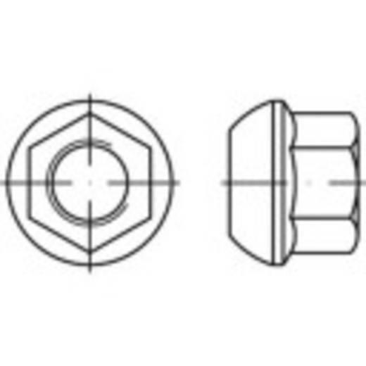 Kogelborgmoer met flens M18 DIN 74361