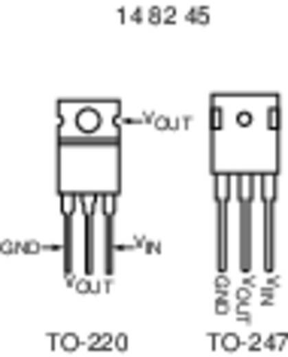 Spanningsregelaar - lineair, type 78 Linear Technology LT 1086-5 CT TO-220 Positief Vast, Instelbaar 5 V 1.5 A