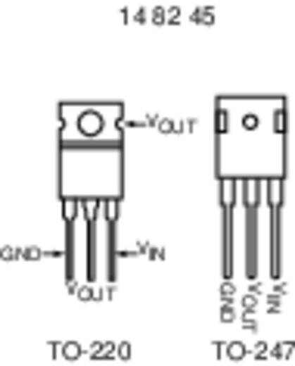 Spanningsregelaar - lineair, type 78 Linear Technology LT1085CT-12#PBF TO-220-3 Positief Vast 12 V 3 A
