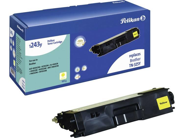Pelikan Tonercassette vervangt Brother TN-325Y Compatibel Geel 3500 bladzijden 1233Y