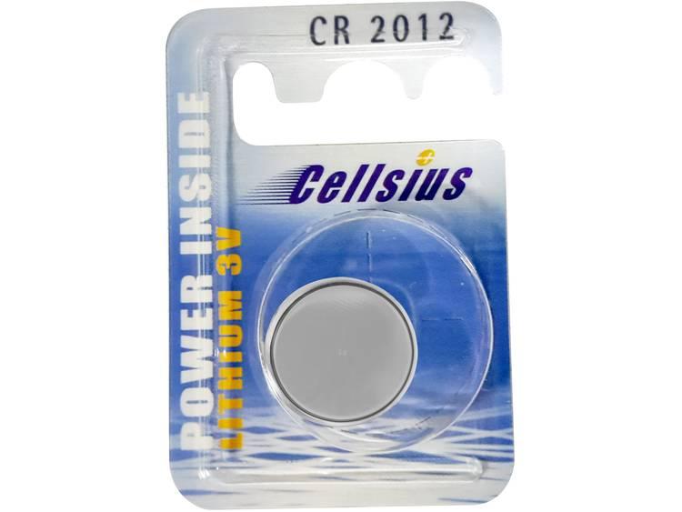 CR2012 Knoopcel Lithium 3 V 55 mAh Cellsius Batterie CR2012 1 stuk(s)
