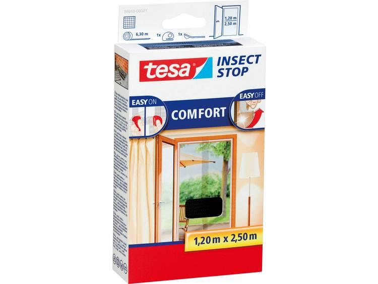 tesa Insect Stop Comfort 55910 21 Vliegenhor Antraciet 1 stuks