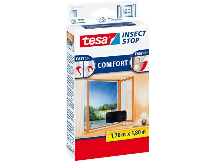 tesa Insect Stop Comfort 55914 21 Vliegenhor Antraciet 1 stuks