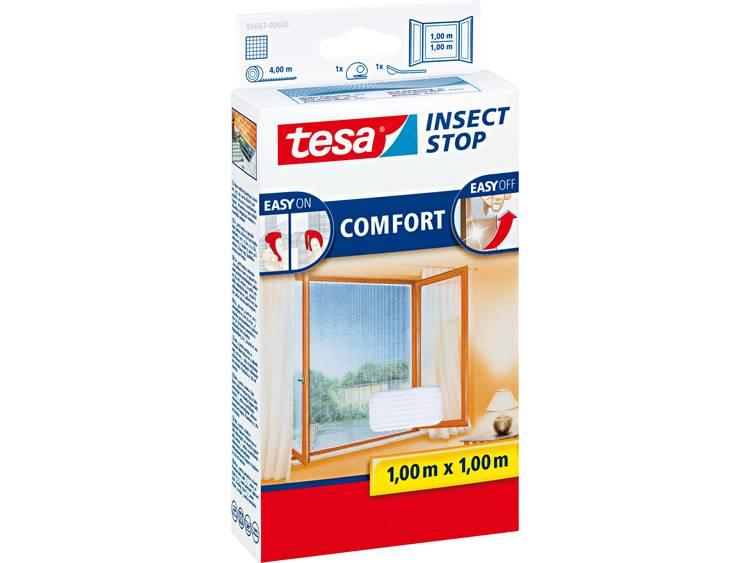 tesa Insect Stop Comfort 55667 20 Vliegenhor Wit 1 stuks