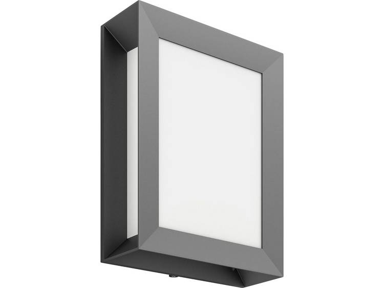 Rechthoekige buitenwandlamp Karp met LED-licht