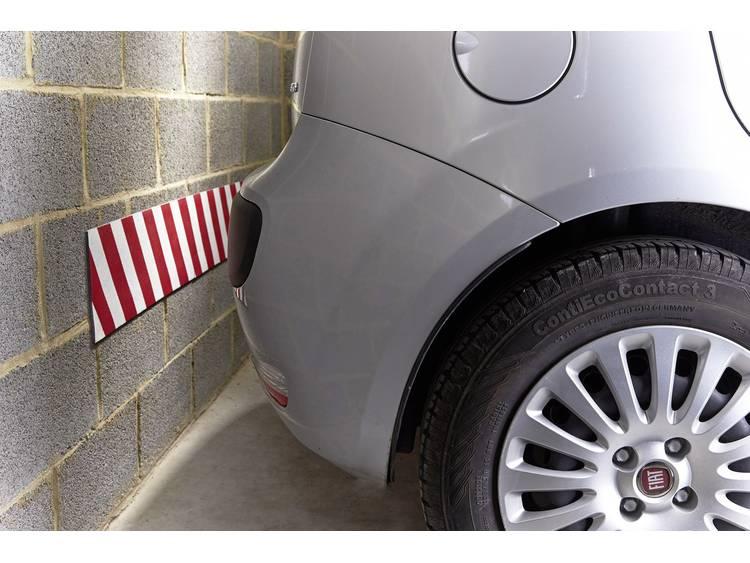 HP Autozubehör 18103 Wandbescherming rood wit opgerold