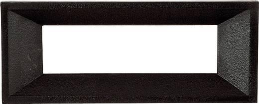 Frontframe Zwart Geschikt voor: LCD-display 6-digit Kunststof Strapubox AR 6 A