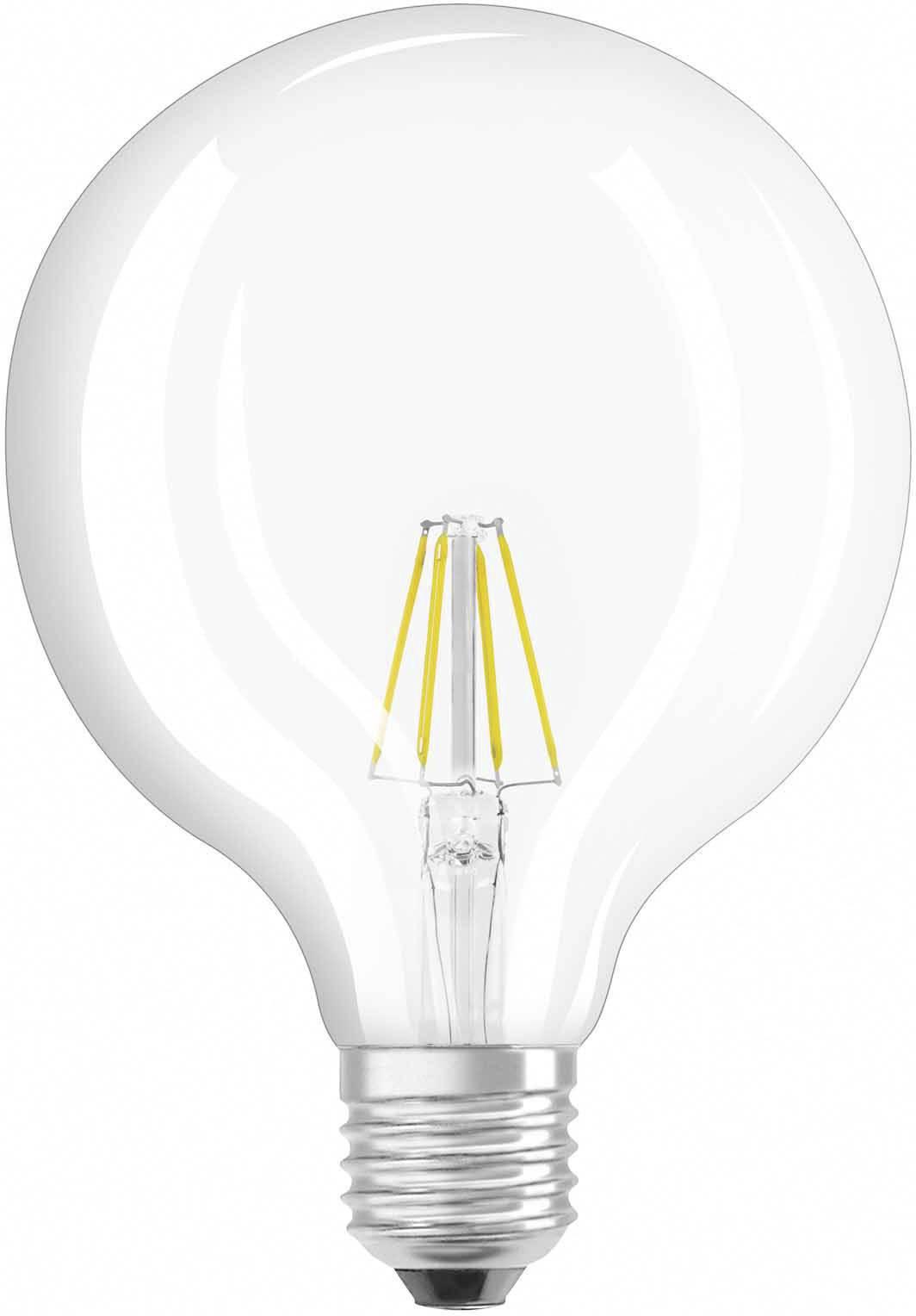 osram 4052899972384 led lamp e27 bol 4 w 40 w warmwit filament retro led energielabel a a e 1 stuks