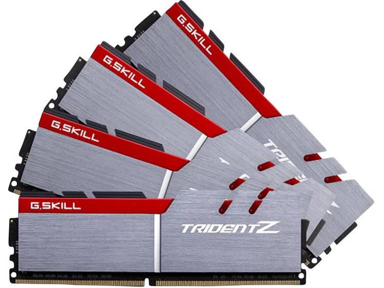 PC-werkgeheugen kit G.Skill F4-3200C16Q-32GTZB F4-3200C16Q-32GTZB 32 GB 4 x 8 GB DDR4-RAM 3200 MHz CL16-18-18-38