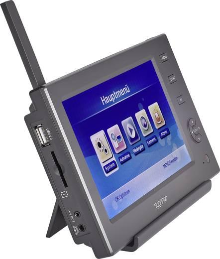 Draadloze bewakingsset 4-kanaals Met 1 camera Sygonix 16885W1