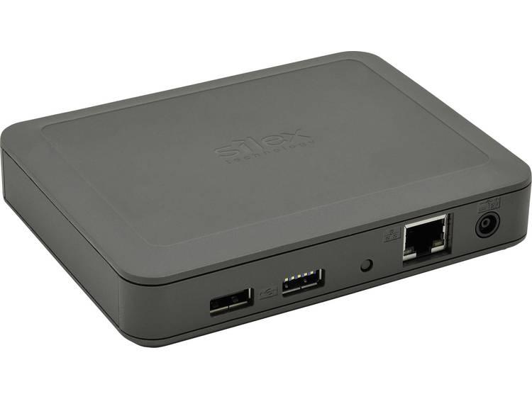 Silex Technology DS-600 Netwerk-USB-server LAN (10/100/1000 MBit/s), USB 3.0, USB 2.0